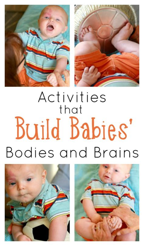 How To Strength Your Baby's Body And Brain Simple Sensory Activities For Babies