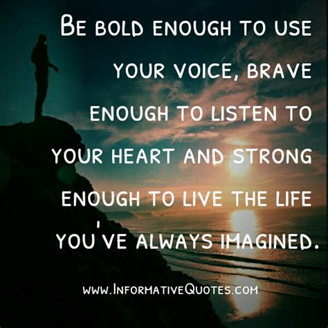 Listen To Your Heart Image Quotes