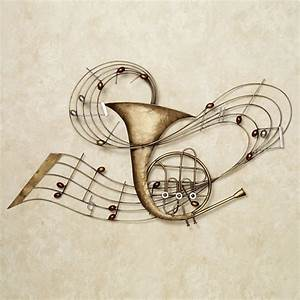 metal musical instrument wall art images With music wall art
