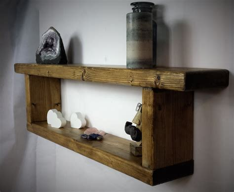 reclaimed wood shelf wooden wall shelf rustic shelves
