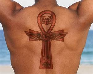 9+ Upper Back Ankh Tattoos