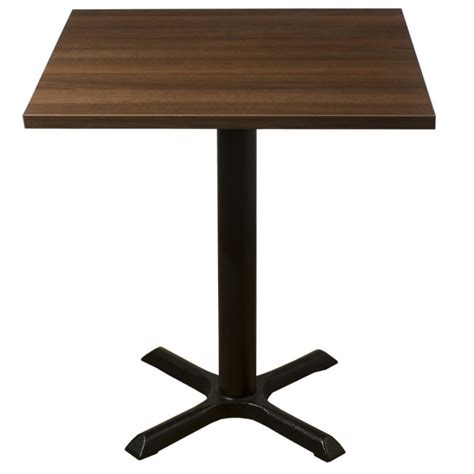 table 60x60 cuisine walnut complete samson 60cm table