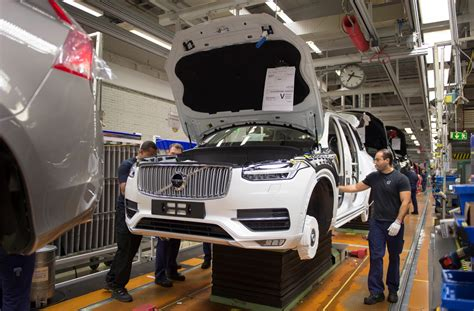 volvo picks south carolina   plant