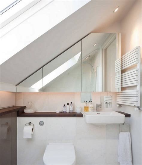Kleines Badezimmer Schräge by Kleines Badezimmer Mit Schr 228 Ge