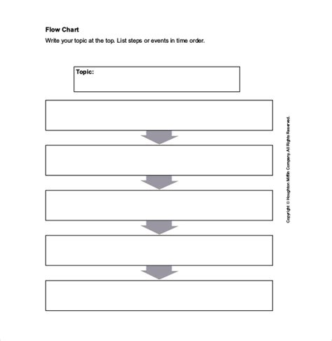 Word Document Flowchart Template by Flow Chart Template 30 Free Word Excel Pdf Format