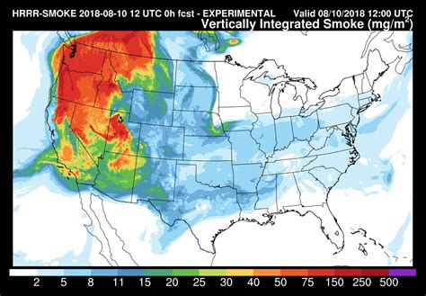 Service California by California Wildfire Smoke Moving All The Way To East Coast