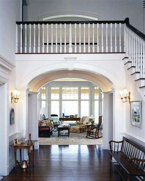 foyer double stairs luxury interior foyer foyer paneling
