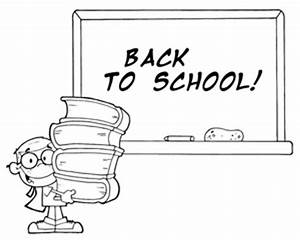 Pics For > Black And White Back To School Clip Art