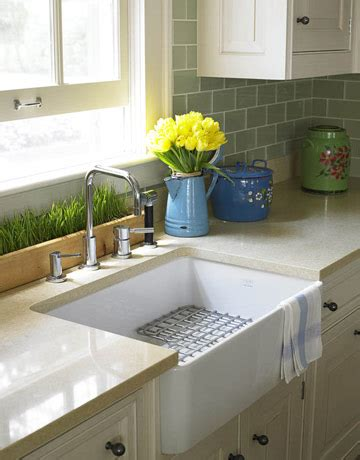 Green Glass Subway Tiles  Transitional  Kitchen  House