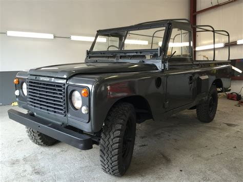 land rover pickup truck 1980 land rover series pre defender military pickup truck