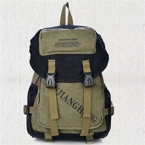 canvas lettering backpack buy letters print canvas backpack casual school