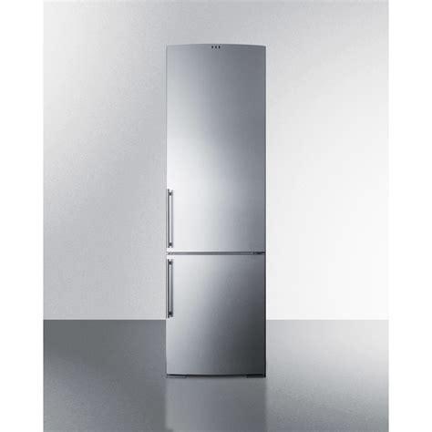 ffbfss summit   cuft counter depth bottom freezer refrigerator