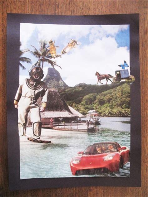 create  surrealistic collage activity educationcom