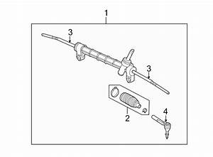 Chevrolet Cobalt Rack And Pinion Assembly  Steering