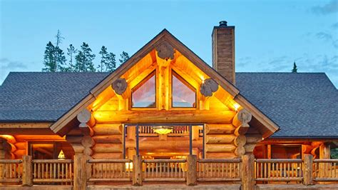 Luxury Log Homes  Interior Design Youtube