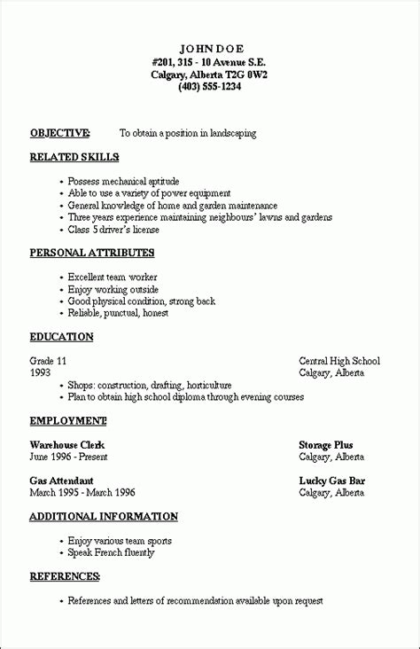 Outline Of Resume by Resume Outline 2 Resume Cv Design Resume Template