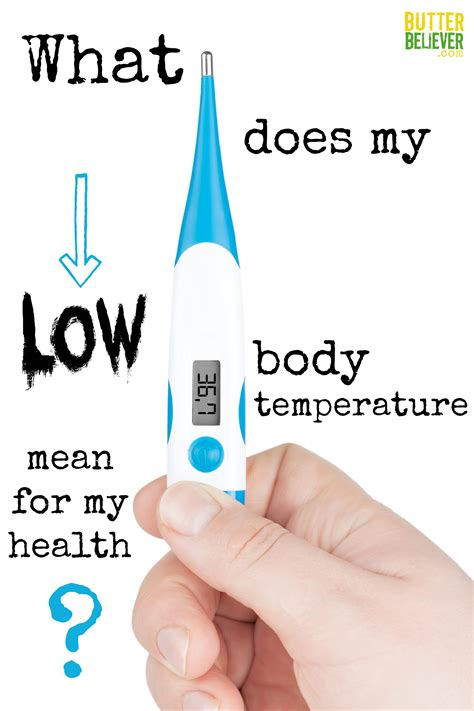 Low Body Temperature? What Your Thermometer Can Tell You