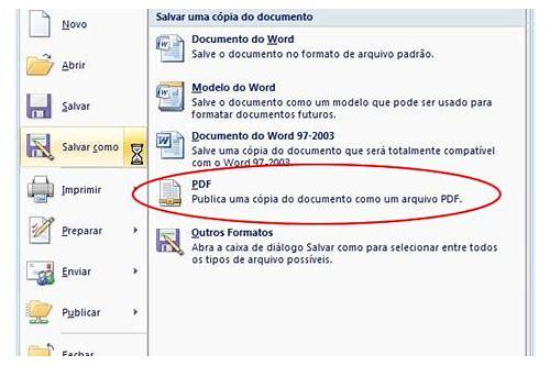 salvar como baixar de arquivo pdf para word