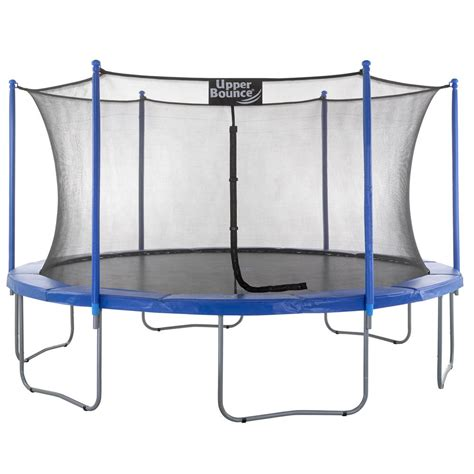 upper bounce 16 ft troline and enclosure set equipped with easy assemble feature ubsf01 16