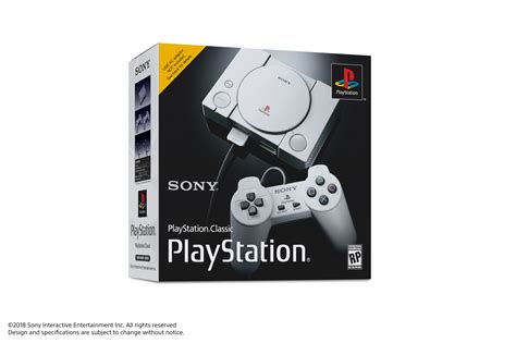 Sony Announces Playstation Classic Mini Console Launches