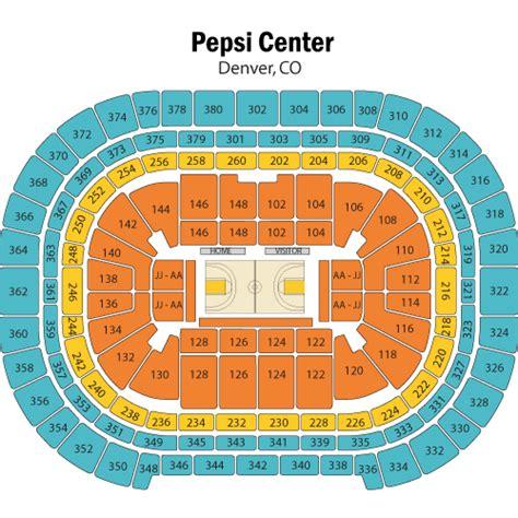 denver nuggets stadium seating chart brokeasshomecom