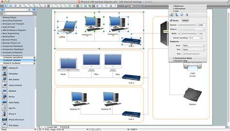 lan diagrams physical office network diagrams diagram