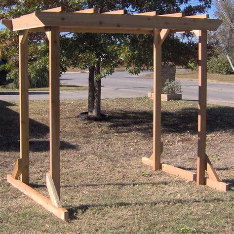 cheap pergola swing stand garden landscape