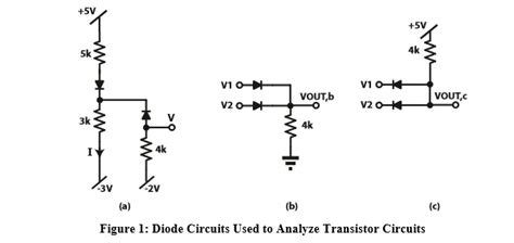 Solved Problem Basic Diode Circuits Three