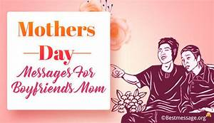 Heartfelt Mother's Day Card Messages for Boyfriends Mom