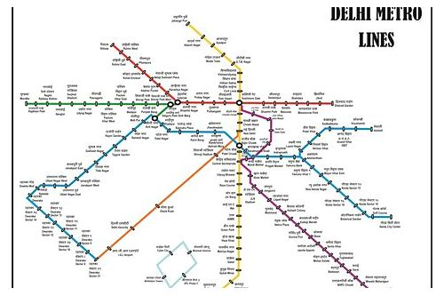 delhi metro map download hd 2018