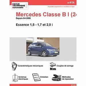 Mercedes Occasion Classe B Essence : revue technique mercedes classe b i rta site officiel etai ~ Gottalentnigeria.com Avis de Voitures