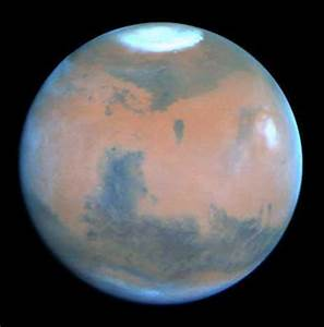 Full View of the Planet Mars - Pics about space