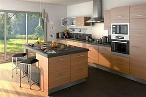 davausnet modele de cuisine moderne lapeyre avec des With meubles de cuisine lapeyre 5 notre selection des plus belles cuisines en bois cuisine
