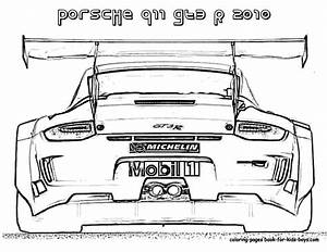 Porsche Panamera Ausmalbilder