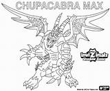 Invizimals Shadow Zone Coloring Chupacabra Pages Max Printable sketch template