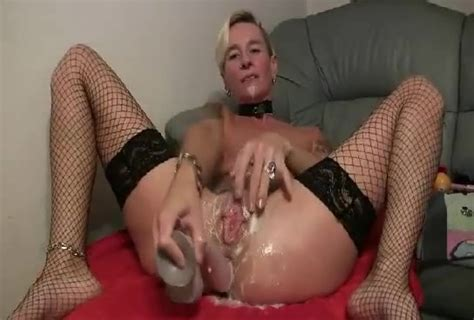 Skinny Blonde Milf Fucks Herself With A Huge Dildo Mature Porn At Thisvid Tube
