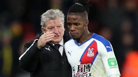 Wilfried Zaha: Crystal Palace forward's new agent holds ...