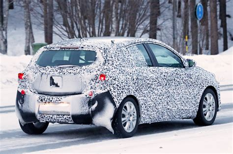 opel corsa new spyshots of corsa next gen vauxhall hatch spotted by