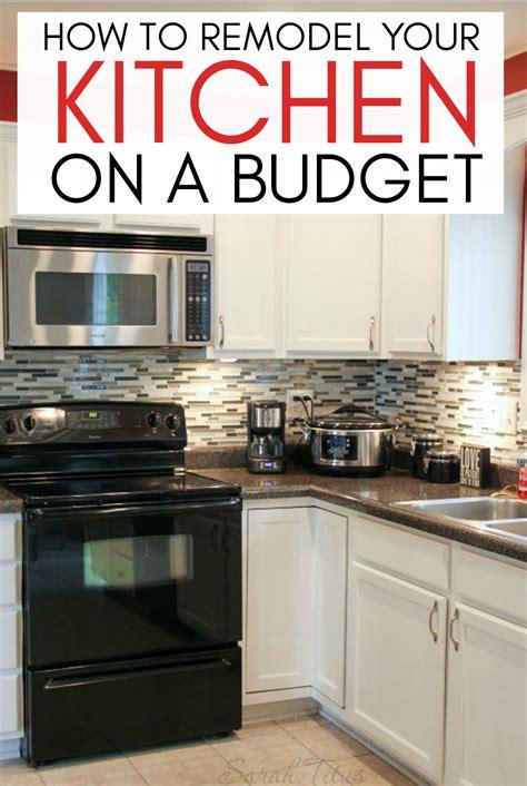 remodel  kitchen   budget sarah titus