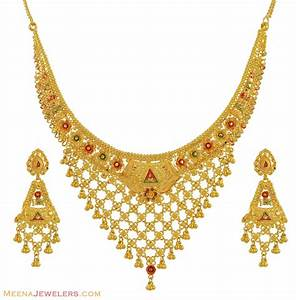 Gold: Gold Jewelry Set
