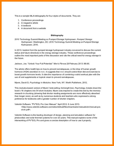 Annotated Resume Exles by 8 Annotated Bibliography Exle Mla Format Farmer Resume