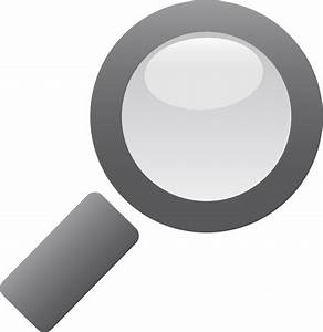 Clipart - Magnifying Glass Icon
