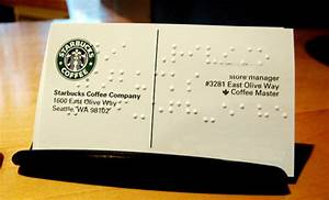 Starbucks delivering more than just coffee affordable for Starbucks business cards