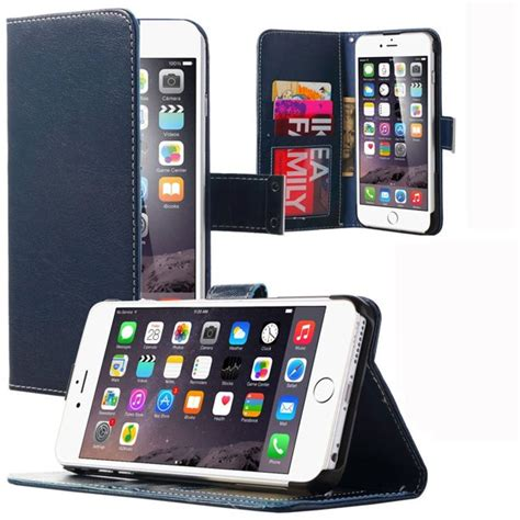 Camouflage wallet case with four credit cards slot design for iphone 6 plus/6s plus. iPhone 6 Plus 6S Plus Case, ULAK PU Leather Flip Money Wallet Case with Credit Card Slot For ...