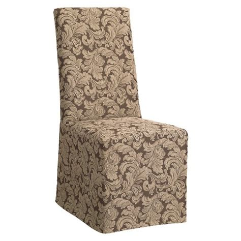 Dining Chair Covers Target by Sure Fit Scroll Dining Room Chair Slipcovers Target