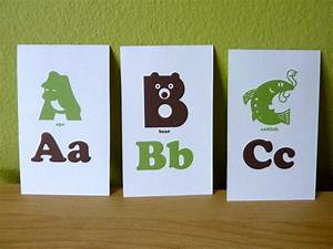 alphabet flash cards download animal alphabet flash cards 3x5 printable pdf green brown