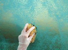 Wand Streichen Schwammtechnik : coole wand streichen ideen und techniken mit lappen f r moderne wandgestaltung ~ Markanthonyermac.com Haus und Dekorationen