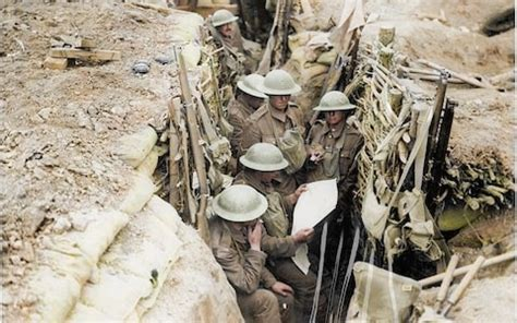 world war 1 in color 12 striking photos from world war one brought to with