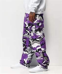 Camo Pants Size Chart Rothco Bdu Tactical Ultra Violet Camo Cargo Pants Zumiez