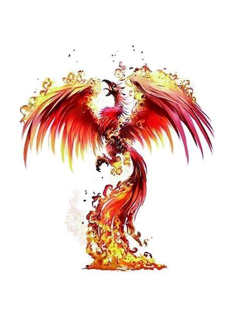 tatouages temporaires de phoenix tattoos autocollants de